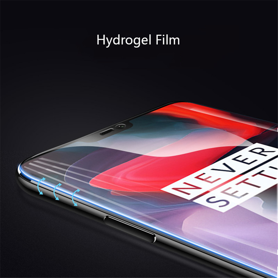 Hydrogel Film For Oneplus 5T One Plus 5 T Screen Protector For Oneplus 6 Oneplus 5 3D Full Cover Soft (Not Glass) (5)