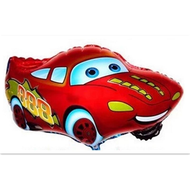2pcs Lot Car Foil Balloons Cartoon Red Car Sports Car Birthday Party