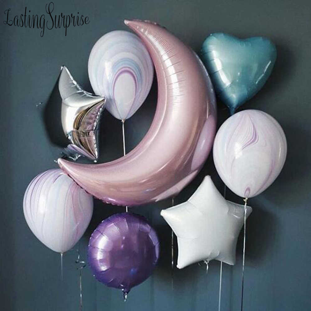 5pc Folie Ballon Baby Junge Dekoration Geburtstag Party Dekorationen Kinder Luftballons Valentinstag Shower Helium Ballon Ballon