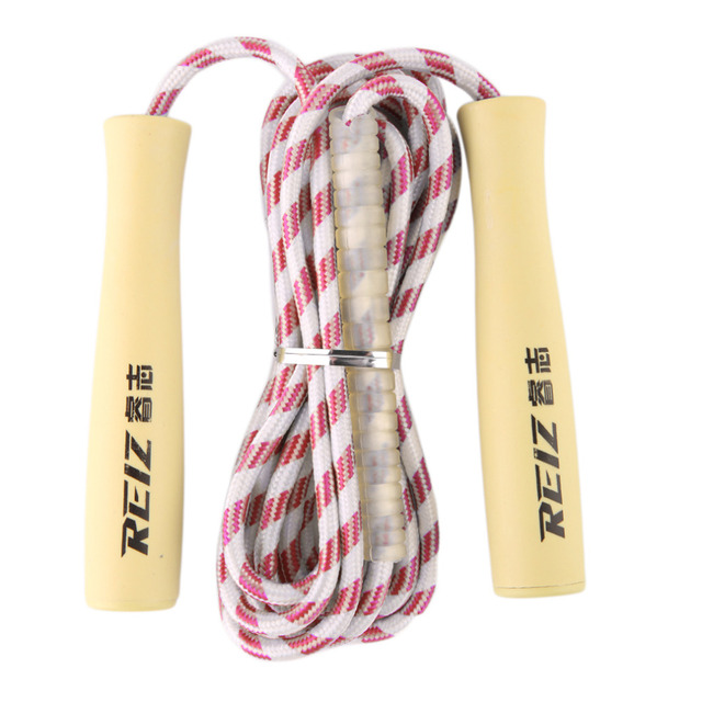 REIZ NS3221A Adjustable Speed Plastic Skipping Jump Rope Portable Sport Fitnesss Equipment Blue/Red/Green New Arrival