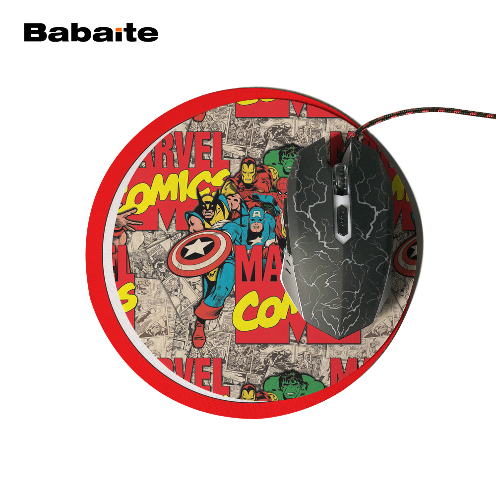 Marvel Comics Painting Mouse Pad Durable Desktop Pad