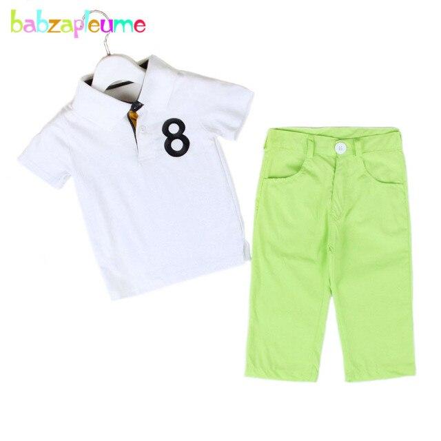 f9ff545bb Spring Baby Boys Clothes Fashion Casual Children T Shirt+Pant 2PCS ...