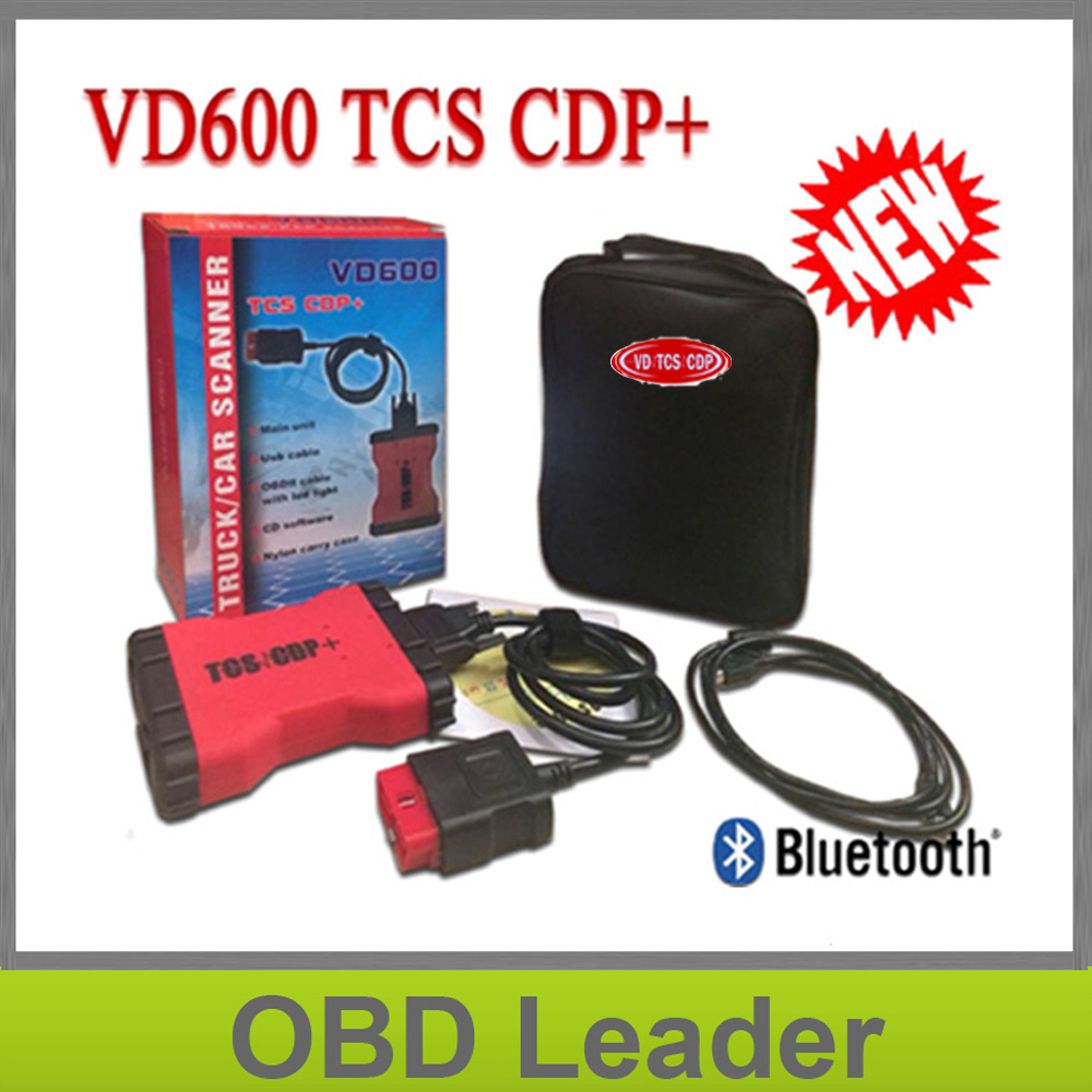 2018 New VD600 TCS CDP PRO 2014.3/2015.3 Keygen TCS CDP Pro Plus With Bluetooth Obd2 Diagnostic CDP Pro For Cars And Trucks