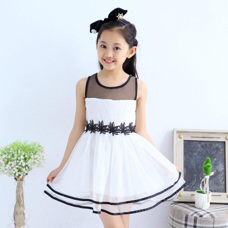 2015 new 4 5 6 7 8 9 10 years old baby girl princess dress summer ...