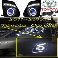 2011~2013 Corolla fog light,Free ship!Corolla headlight,camry,Hiace,tundra,sienna,yaris;Corolla day lamp
