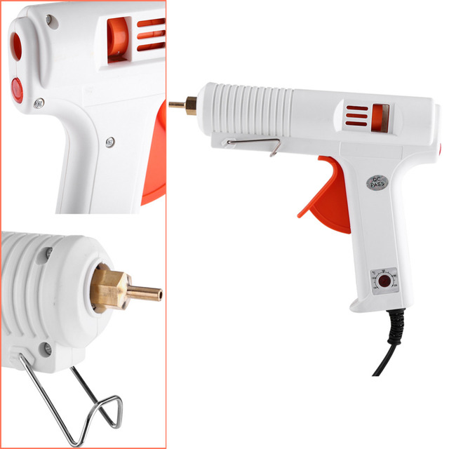 Electric Heat Temperature Graft Repair Heat Gun Hand Tool Fit 11mm Glue Stick 120W Adjustable Hot Melt Glue Gun 100-240V
