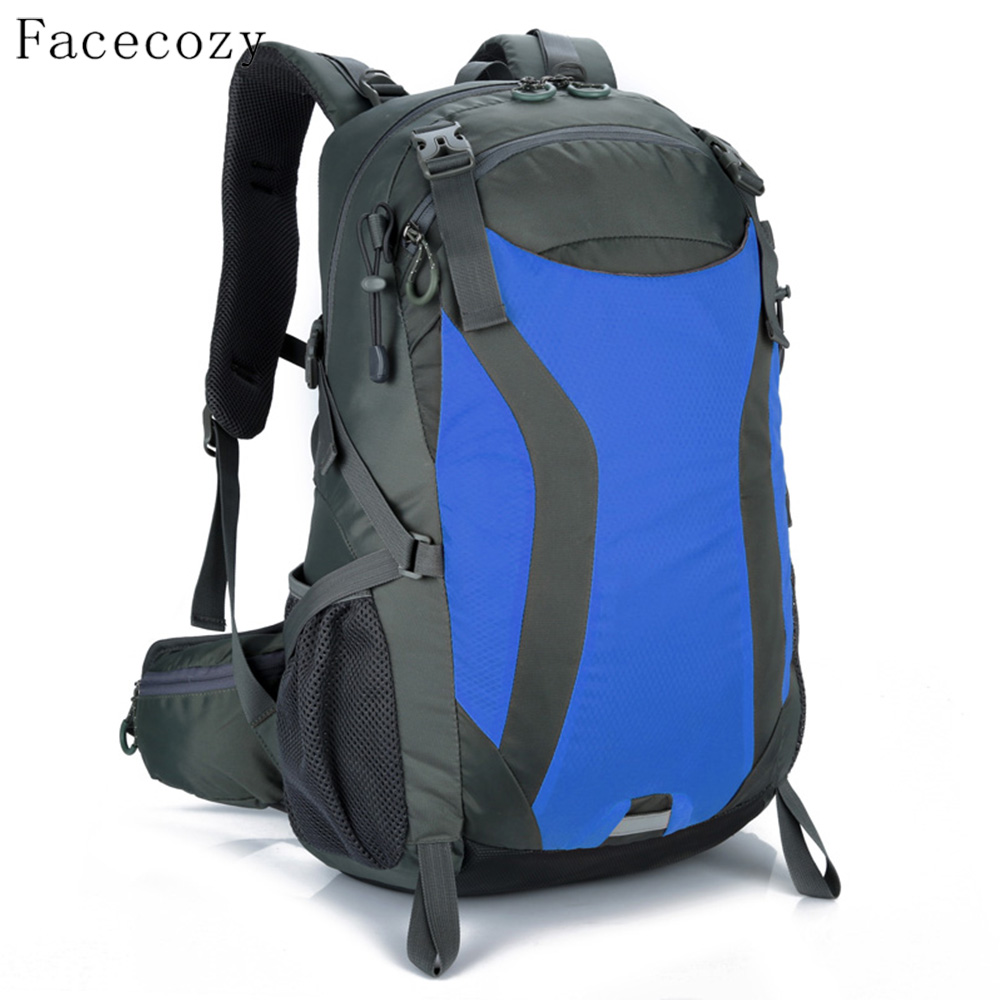 Facecozy Outdoor Big Capacity Hiking Backpack Scratch-Resistant Multifunctional Camping Traveling Backpack Outdoor Sports Bags 65l outdoor sports multifunctional heavy duty backpack military hiking