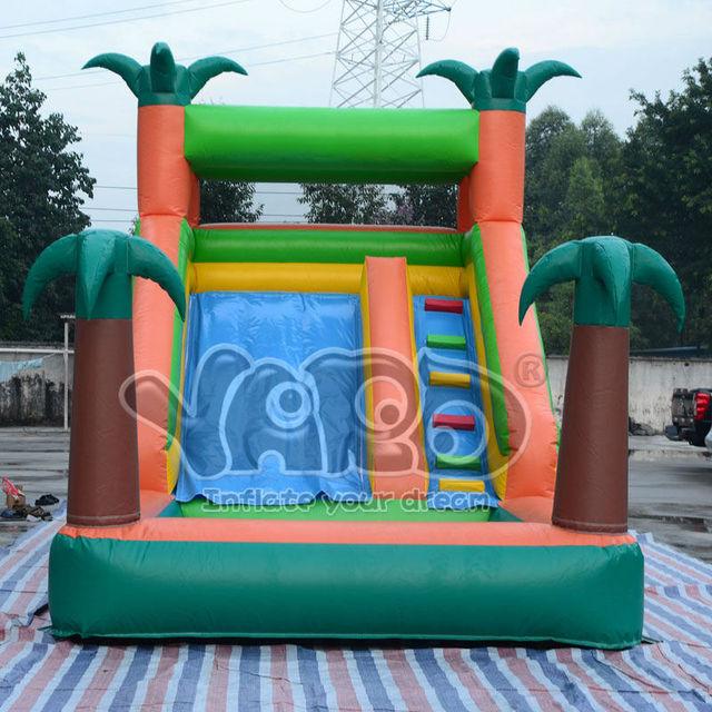 Selva tobogán inflable con piscina de agua envío gratis