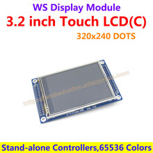 3.2 inch 320*240 LCD Display Module drive Demo board Multicolor Graphic XPT2046 with Touch Screen Stand-alone Controllers