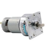 775 gear motor 12V micro small motor 35W high torque speed motor 24V slow speed DC motor