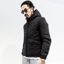 2016 winter new mens jacket japan style fashion parkas thicken warm padded coat high qualit brand hiphop casual jacket A459