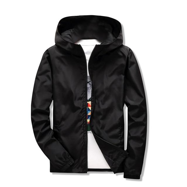 39a79776564 2018 New Reflective jacket windbreaker men women jaqueta masculina college  jackets Big Size S-7XL