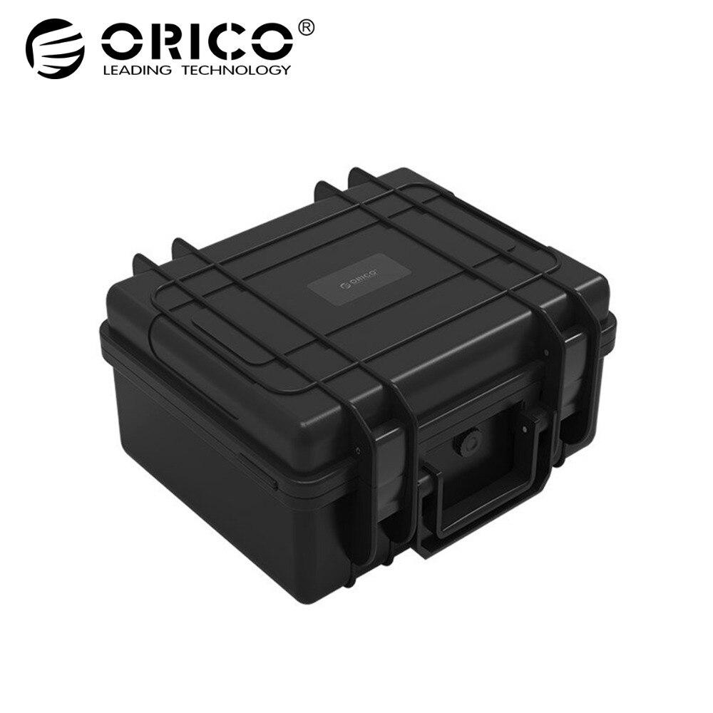ORICO 30 bay 2.5 3.5 pouce Disque Dur Protection Cas imperméable à L'eau + anti-Choc + Poussière- preuve Fonction Verrouillage de Sécurité et Snap Conception