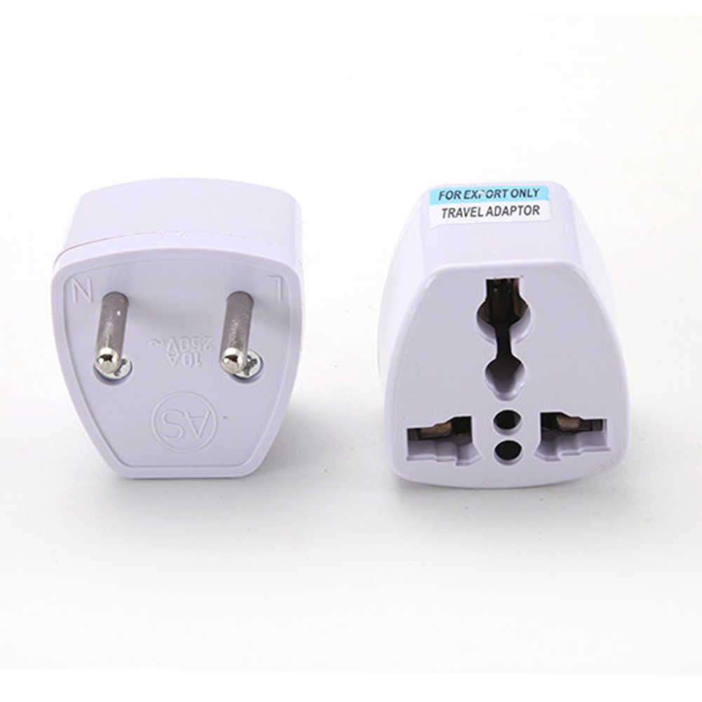 Universale EU UK AU a US USA Power Adapter di Viaggio Convertitore di Spina 2 Piatto Spille Spina di Alta Qualità
