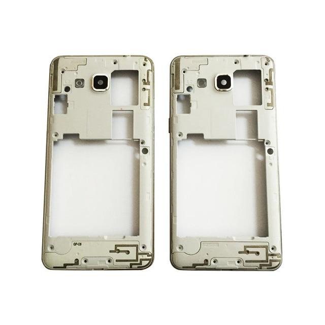 f7a99f66029 Original nueva carcasa trasera de placa media para Samsung Galaxy Grand  Prime G530H G530 parte trasera