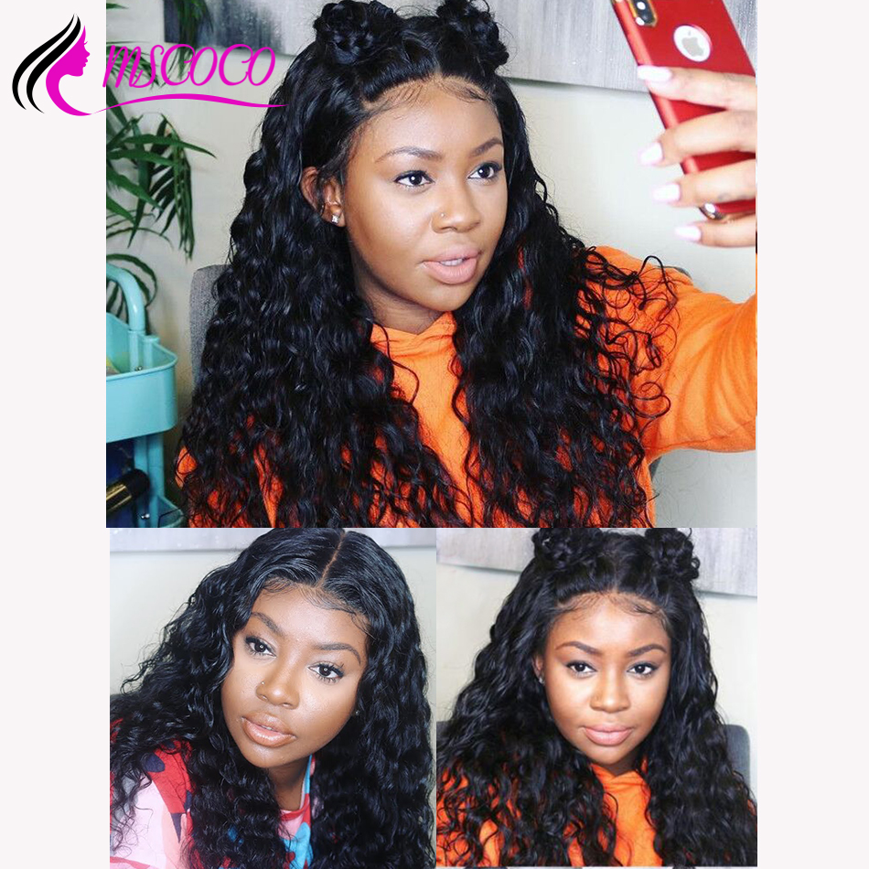 Lace Wigs Human Hair Lace Wigs Careful Abijale Water Wave Wig 150% Density Peruvian Remy Hair Bob Wig Lace Front Human Hair Wigs For Women Pre-plucked Latest Fashion