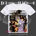 Anime Death Note T Shirt Tee Summer Short Sleeve T-shirt Tops Unisex Cosplay S-XXXL