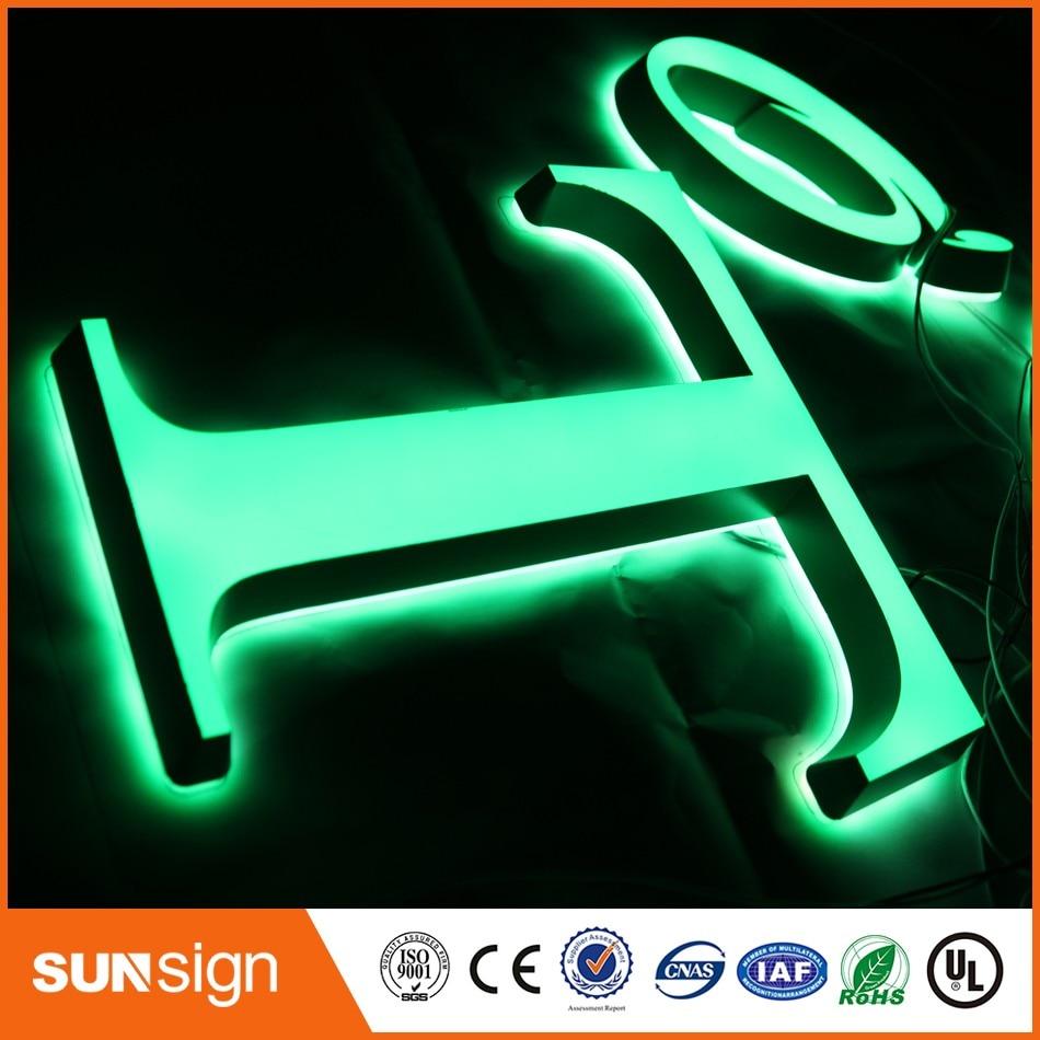 Alibaba-Aliexpress супер качество рекламы сетчатый свет письмо