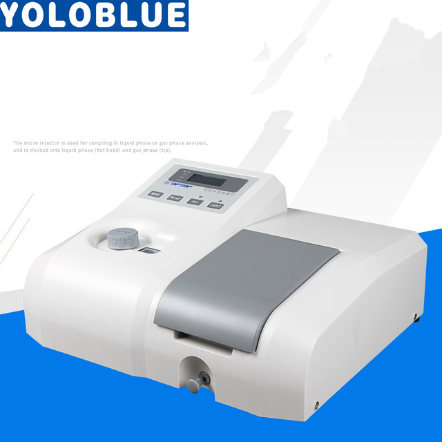 220V 722 UV visibile spectrophotometric spettroscopia di laboratorio spettrometro Analisi di Laboratorio Attrezzature