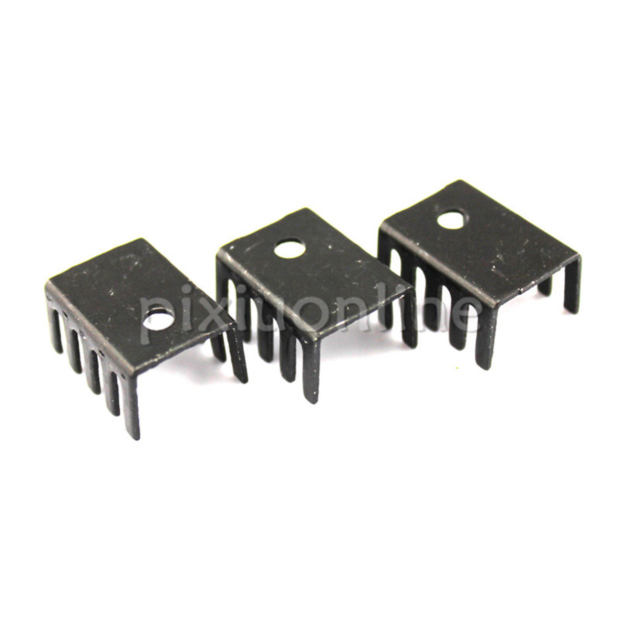 3pcs/pack J646b TO220 Darlington Transistor Heat Sink Cool Radiator Free Shipping Russia kd621k30 prx 300a1000v 2 element darlington module