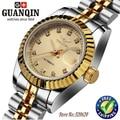 Ladies watch brand GUANQIN automatic Diamond Waterproof sapphire women watches diamond fashion watches ladies wrist watch