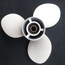 Алюминиевый гребной винт 9 1/4x11 на лодочный мотор Yamaha propeller 9.9-15 HP.! marine propeller