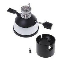 Mini masaüstü bütan gaz ocağı ile seramik alev kafa sifon sifon Hario kahve ısıtıcı üreticisi|Ocak Parçaları|   -