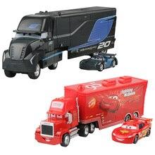 Disney Pixar тачки 3 Молния Маккуин Джексон шторм Мак дядюшка грузовик 1:55 литья под давлением модель из металлического сплава подарок на год игрушка малыш мальчик