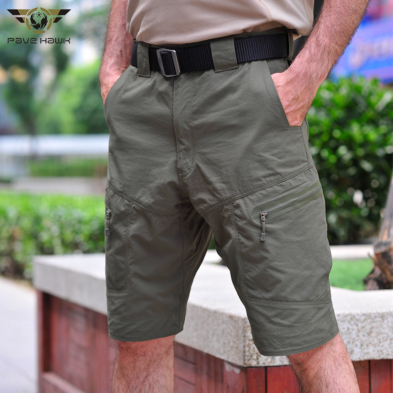 Tactical Waterproof Casual Shorts Men Breathable Quick dry summer Hiking Shorts Ripstop Outdoor Camping Climb Male Cargo Shorts