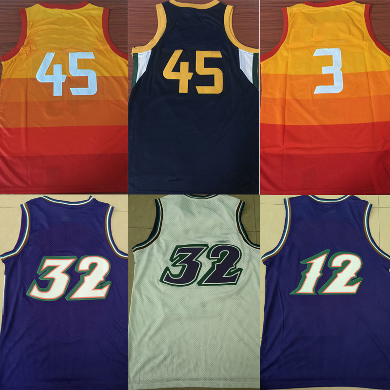 new styles 3f633 fc31a US $19.43 28% OFF|New tank tops city edition Jimmy Butler Joel Embiid Ben  Simmons Ricky Rubio Karl Malone John Stockton Donovan Mitchell jerseys-in  ...