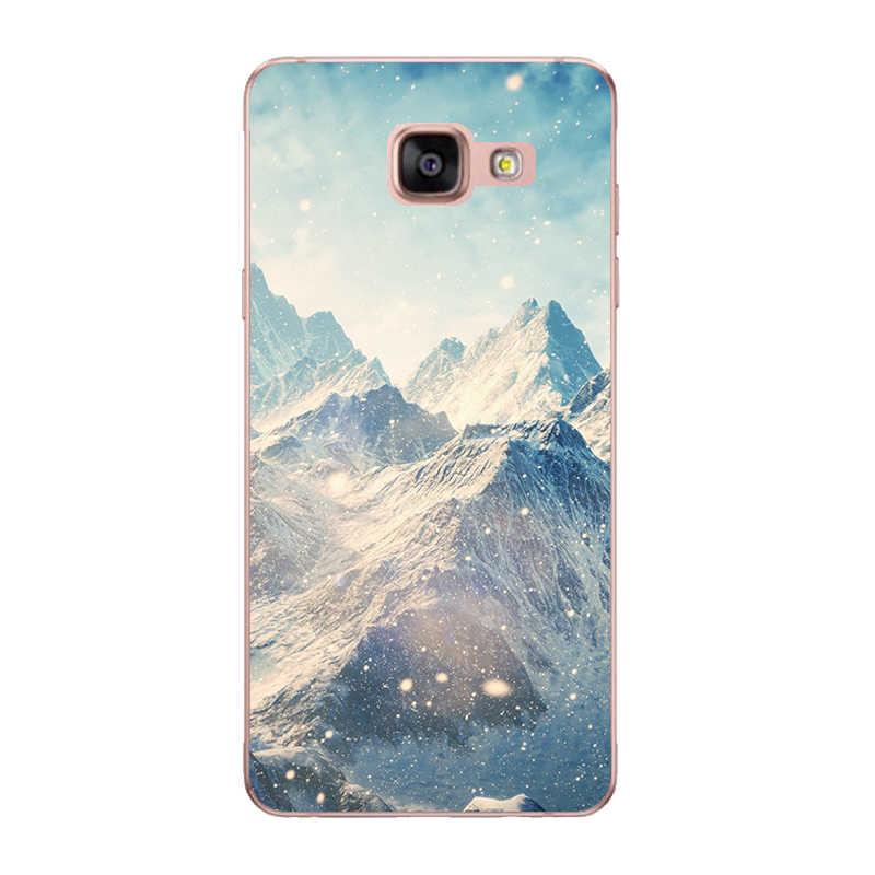 สำหรับ Coque Samsung Galaxy A3 A5 2016 กรณี A510 A510F โทรศัพท์ซิลิโคนนุ่มกลับ Capa สำหรับ Funda Samsung A3 2016 A310