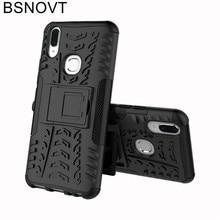 For Vivo V9 Case Phone Bumper Cover For Vivo Y85 Case Soft TPU Holder Stand Anti-knock Phone Case For Vivo V9 / Y85 Funda Coque goowiiz розовое золото vivo y85