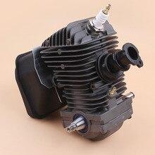 42,5 мм Двигатель в сборе цилиндр поршень коленчатого вала глушитель комплект для STIHL MS250 MS230 025 023 MS 250 230 бензопила ремонтные части