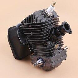 42,5 MM Motor Montage Zylinder Kolben Kurbelwelle Schalldämpfer Kit Für STIHL MS250 MS230 025 023 MS 250 230 Kettensäge Wieder Aufzubauen teile