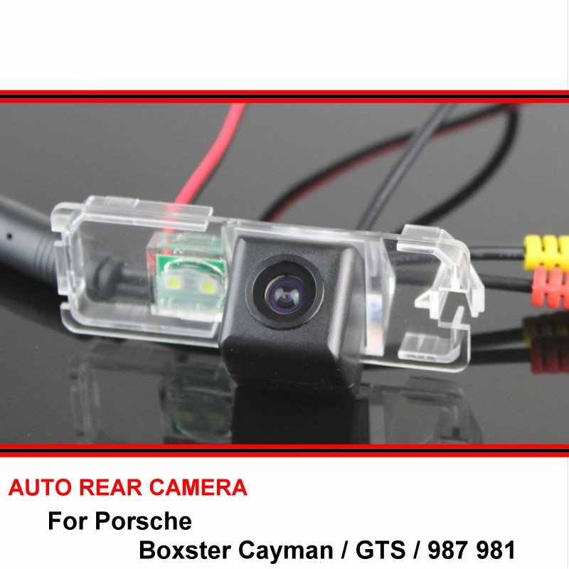 For Porsche Boxster Cayman / GTS / 987 981 Reversing Camera Car Back up  Parking Camera Rear View Camera SONY HD CCD Night Vision