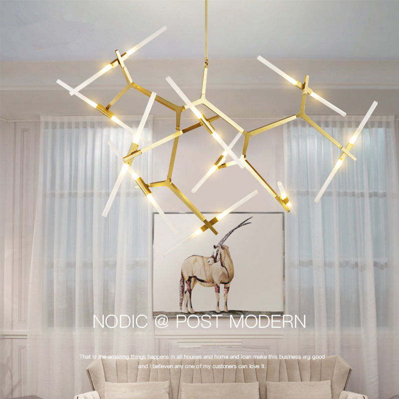 Modern LED Chandelier Lighting For Dining room Living room lustre salon moderne Glass Chandelier suspension luminaire