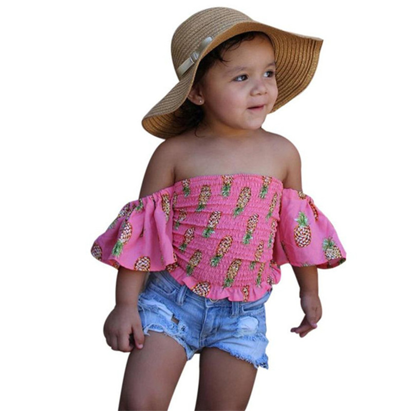 Summer style Girls clothes Fashion cute suit children clothing sets raglan Short sleeve outfit+short pant new Kids Sports Suits