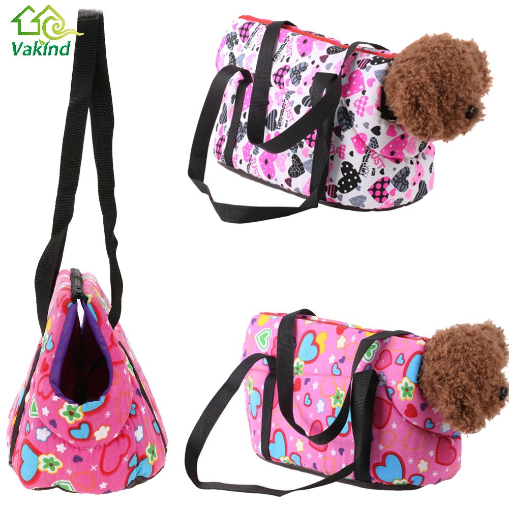 f9084a26ab0b Detail Feedback Questions about Floral Print Pet Dog Carriers Canvas  Shoulder Bag for Small Dog Cats Pet Animal Outdoor Travel Carrier Dog  Products on ...