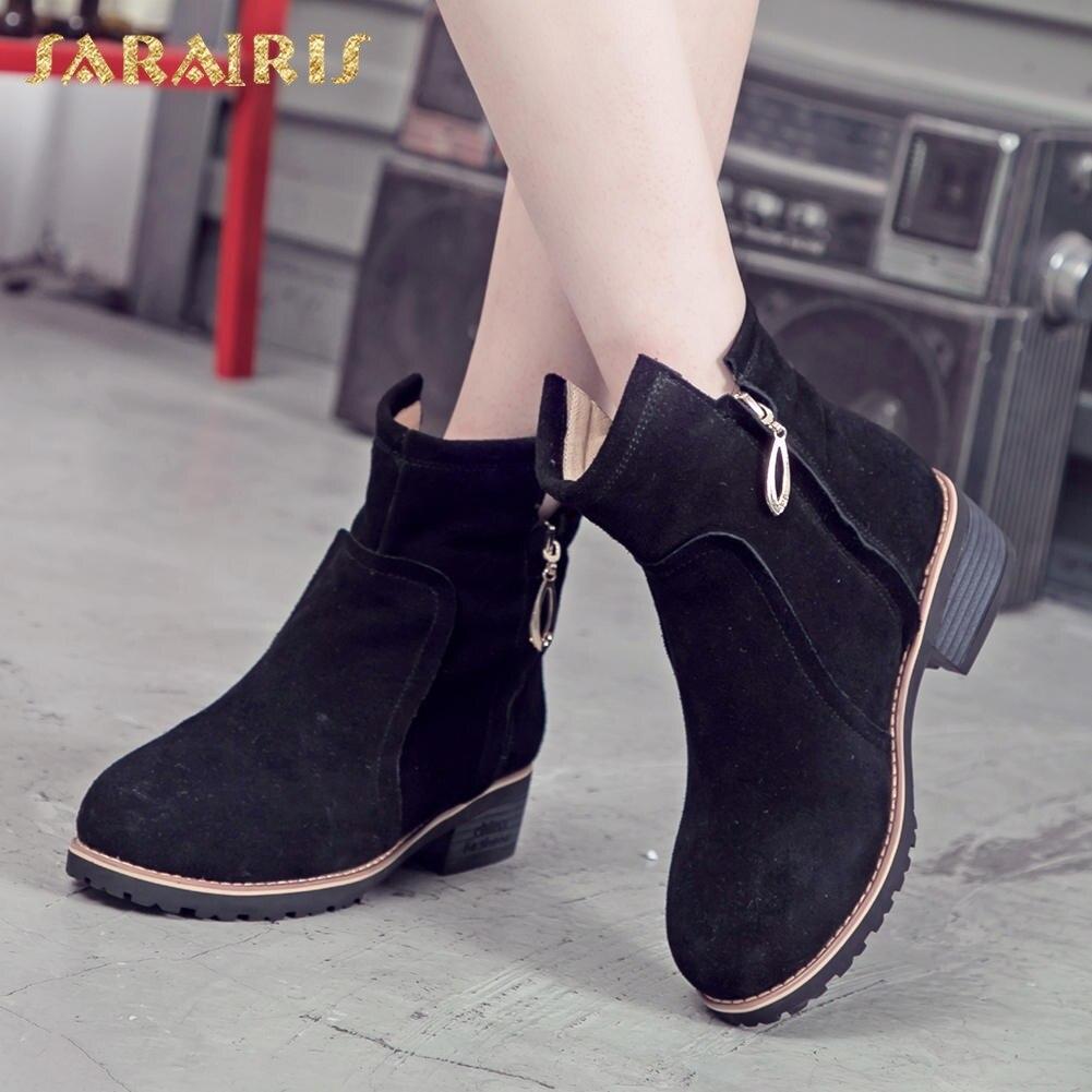 e634c3b658413 Gros Bottes camel Hiver Automne Vache Chaussures Fur black Fur coffee Noir  Camel Western New Fur ...