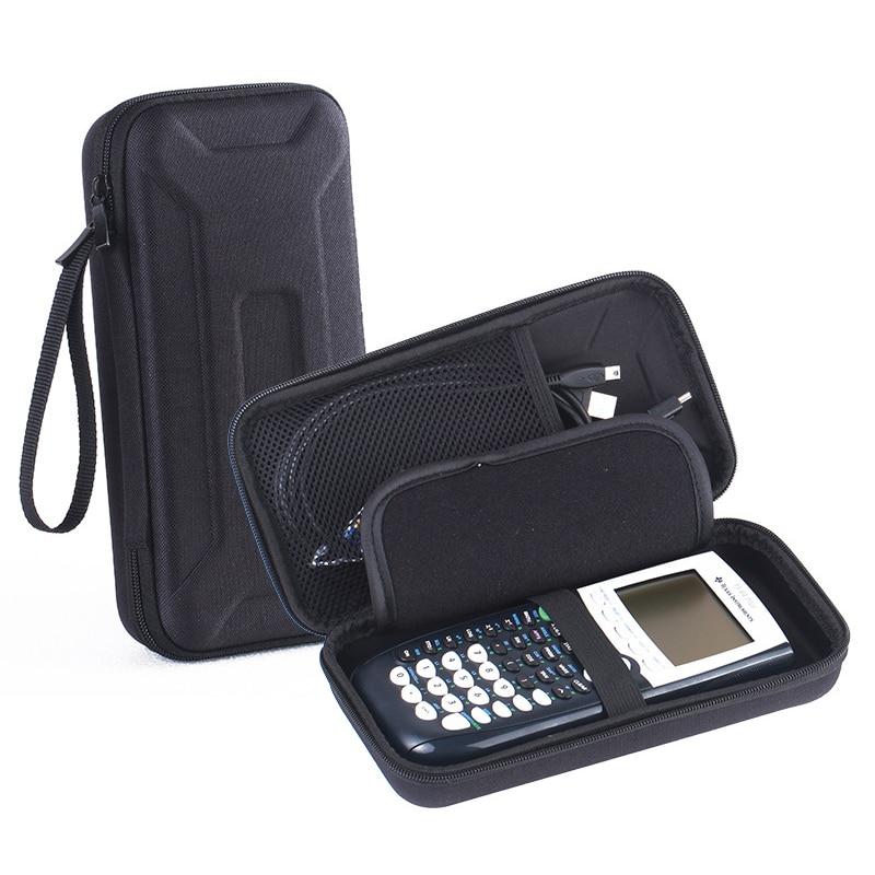 imágenes para EVA Bolsa de Transporte de Viaje Bolsa de Portátil Cubierta de la Caja Protectora de La Manga Para Texas Instruments TI-84 Calculadora Gráfica Más CE