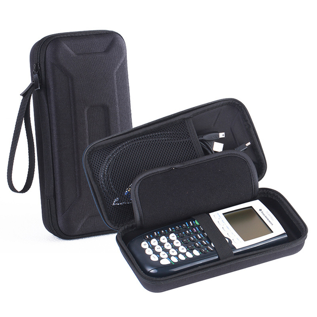 EVA Travel Carry Pouch Sleeve Portable Protective Box Cover Bag Case For Texas Instruments TI-84 Plus Graphics Calculator CE