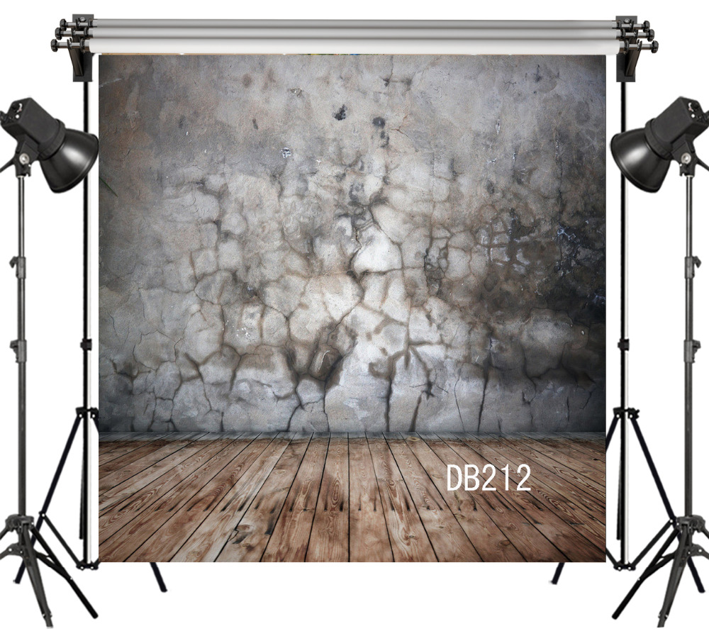 Lb Polyester Amp Vinyl Cracked Stone Wall And Wood Board