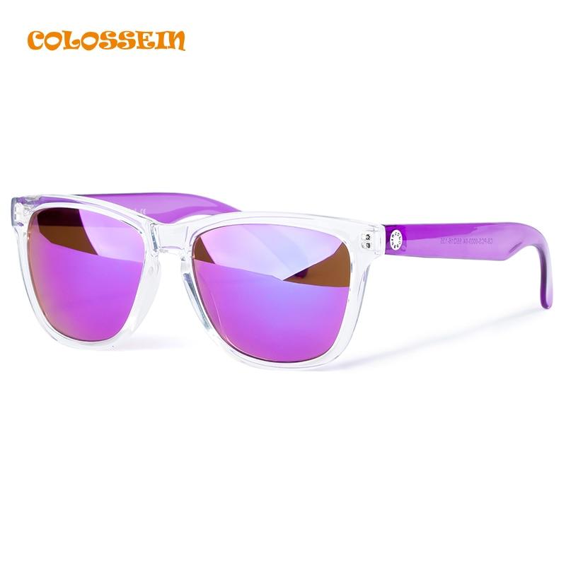 COLOSSEIN BLUE LABEL Fashion font b Sunglasses b font Brand Women Rectangle White Frame Cool Eyewear