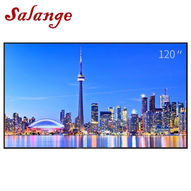 Salange RS822 Reflective Fabric Projection Screen 16:9 100 120 inch For XGIMI UNIC UC46 UC40 YG400 JMGO Projektor Proyector