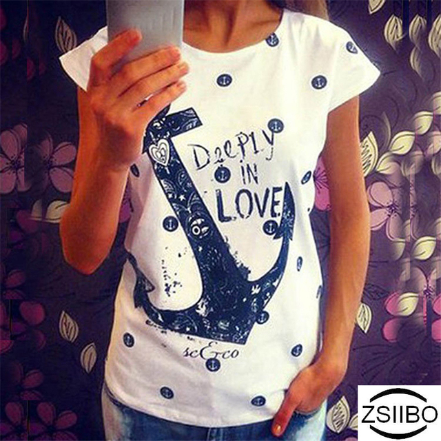HOT SALE Cool Summer Anchor Deeply In Love T-Shirts