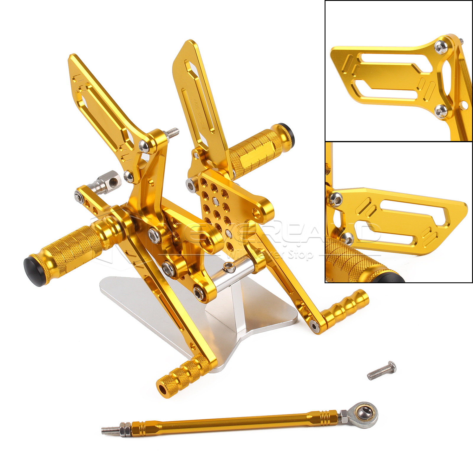 CNC Adjustable Rear Sets Rearset Footrest Foot Rest Pegs For Suzuki GSXR600 GSXR750 GSXR1000 GSXR 600 750 1000 SV650 SV650S management and users participation in low cost flat