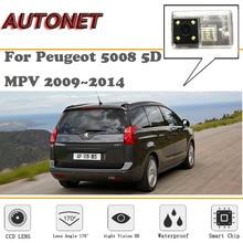 AUTONET резервного копирования заднего вида Камера для peugeot 5008 5D MPV 2009~ /HD Ночное видение/парковка Камера/ номерной знак Камера