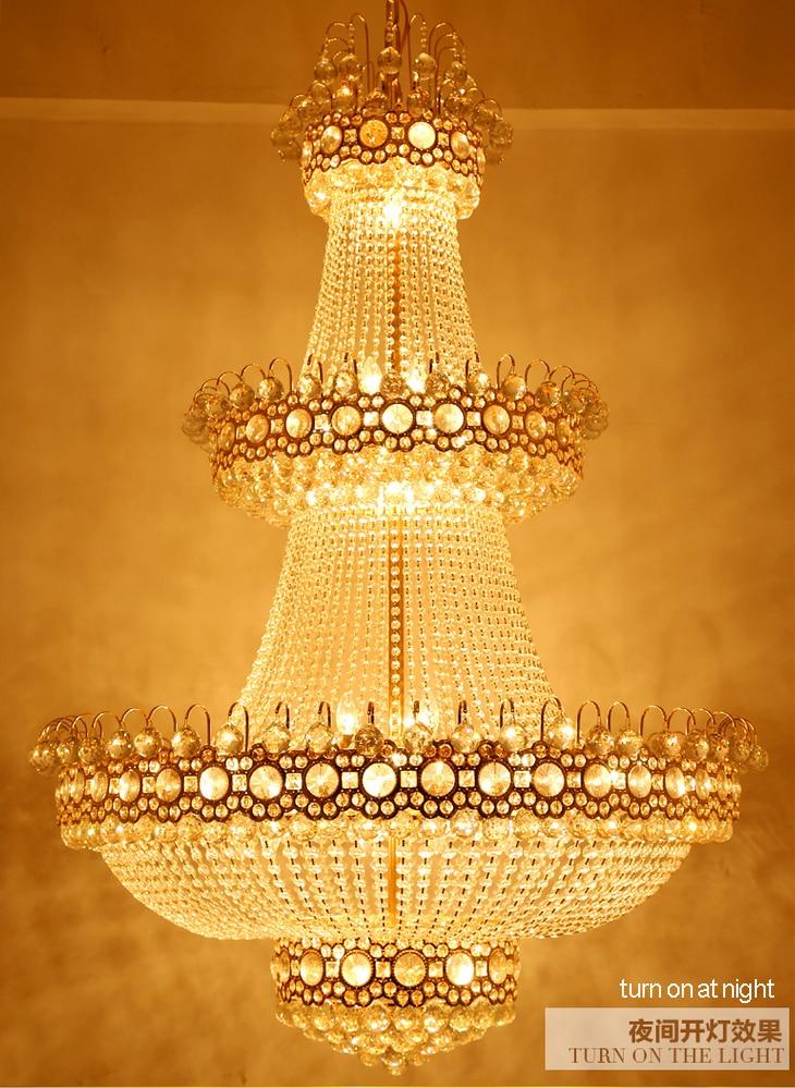 현대 샹들리에 LED 램프 크리스탈 샹들리에 조명기구 - 실내 조명 - 사진 6