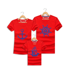 Daughter Matching Clothes Sailor Family Outfits