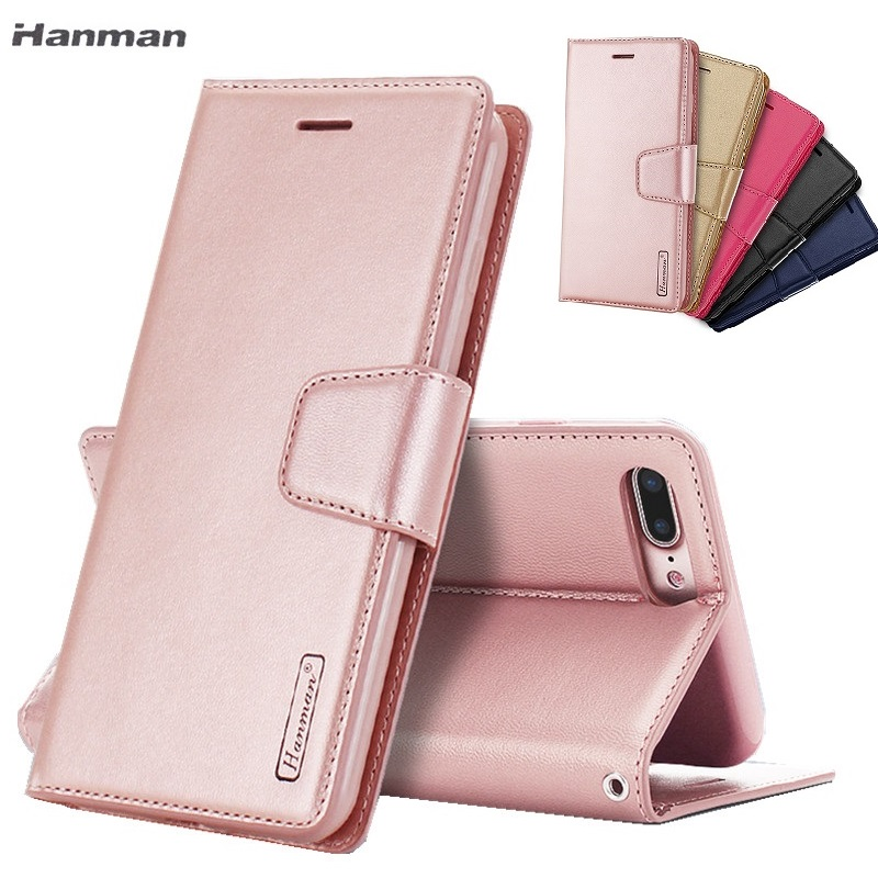Sheepskin Flip Wallet Leather Cover Case For iPhone XS Max XR X 8 7 6 6s Plus Back Cover With Card Slot Stand Holder Phone Case